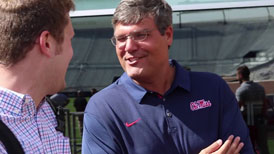 A Rebel since birth, Matt Luke relishes head coaching job