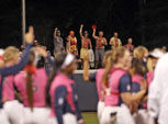 Ole Miss softball fans making a name for themselves in left field